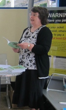 Cropped Version of my reading at railway station