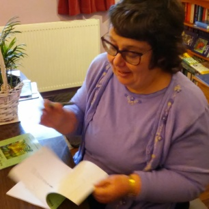 Don't think I'll ever tire of signing my books