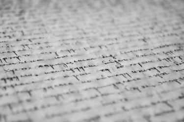 Wonderful calligraphy here. Pexels image.