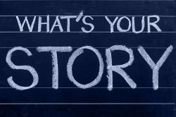 Just what is your story then? Image via Pixabay