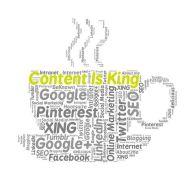 Content is indeed king. Image via Pixabay.