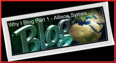 Feature Image - Why I Blog Part 1