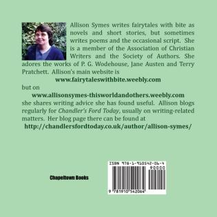 Back cover of FLTDBA. Image by Allison Symes