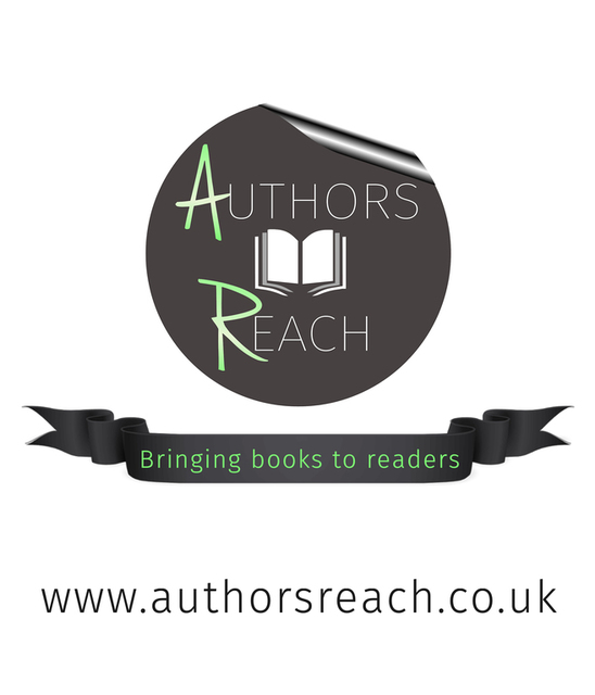 Authors Reach logo kindly supplied by Richard Hardie