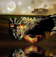 Is it Time for a Change for the dragon in my story on Cafelit? Image via Pixabay