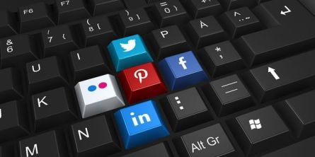 Finding time to follow social media is difficult so pick the one or two you like the most. Image via Pixabay