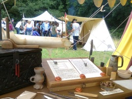 The scrivener's tools - image by Allison Symes