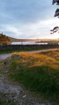 View from near where I was staying in Scotland. You wouldn't want to rush away from this. Image by Allison Symes