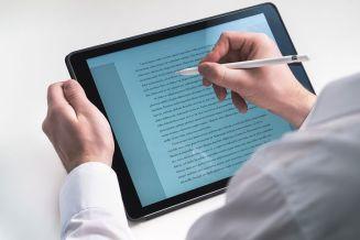 Writing to screen. Image via Pixabay
