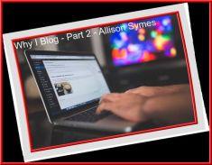 Part 2 of Why I Blog. Image via Pixabay.