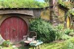 Hobbiton - Frodo gave up his comfortable home - image via Pixabay