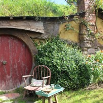 Hobbiton - Frodo gave up his comfortable home - image via Pixabay