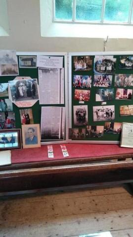 Part of my church's 200th anniversary exhibition. Image by Allison Symes