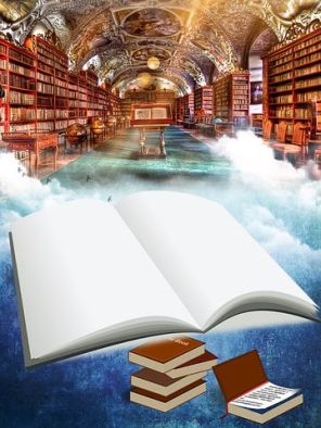 Good reading - and writing to be done - here. Pixabay image.