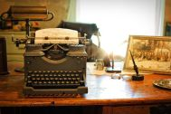 I remember using a manual typewriter. Pixabay image.