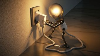 Charging up for new ideas, maybe? Pixabay image.