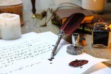 Old school writing! Pixabay image.