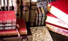Beautiful books. Pexels image.