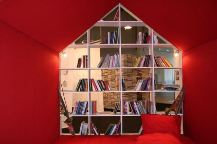 A house full of books. Pixabay image.