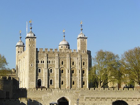 Another view of the Tower of London - image via Pixabay