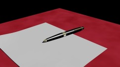 Fill that blank sheet with ideas from non-fiction as well as other fiction works - image via Pixabay