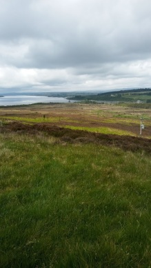 From Lairg looking down at Loch Shin. Image by Allison Symes