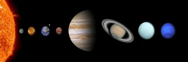 Knowledge of how our solar system works can inspire creating your fictional one. Pixabay image.