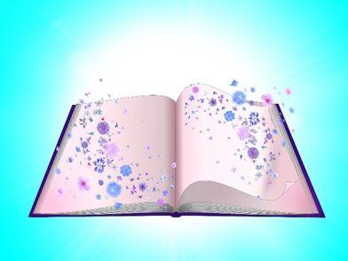 Books are wonderful. Pixabay image.