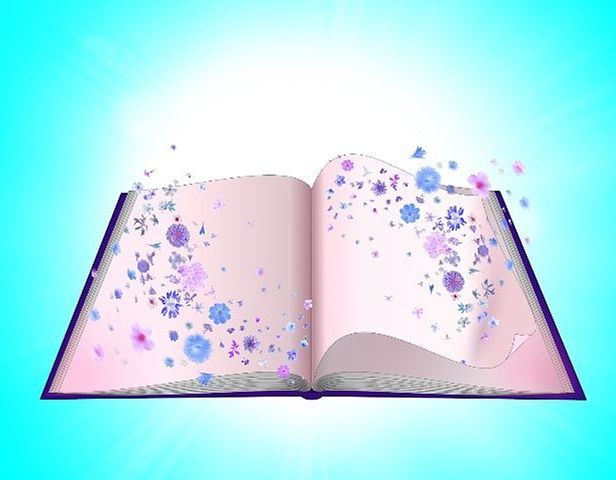 Books are wonderful. Pixabay image.