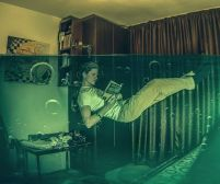 Reading immerses you in another world. Pixabay image.