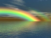 The light fantastic as represented by the rainbow. Pixabay image.