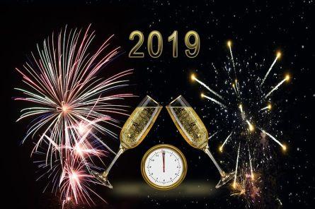 Happy New Year! Pixabay image