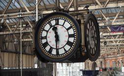 The Waterloo clock. Pixabay image.