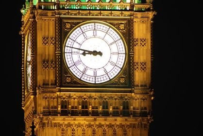 The world's most famous timepiece. Pixabay image.