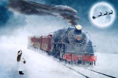 Reminds me of Polar Express. Pixabay image.