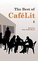 It is a great joy to be published by Cafelit online and in print. Picture taken by Allison Symes