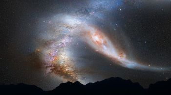 The Andromeda Galaxy. Pixabay image.