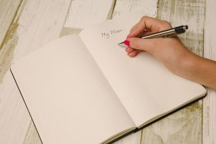 Planning your writing can save you lots of time later. Pixabay image.