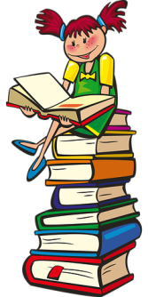 This IS what I call a reading pile. Pixabay image.