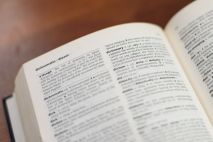 A good dictionary is wonderful and can save many a writing embarassment! Pixabay image.