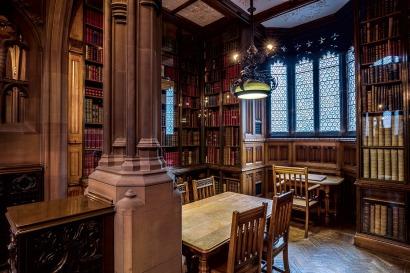 John Ryland's library. Pixabay image.