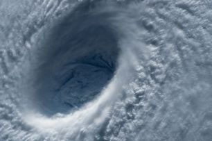 The eye of the storm. Pixabay image.
