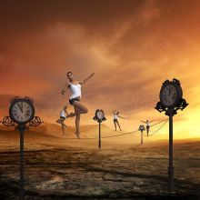 Getting the balance right in adapting work is never easy. Pixabay image.