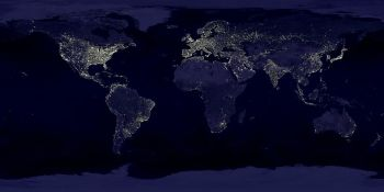 The night lights of Earth
