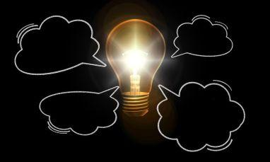Imagination feeding the lightbulb moment. Pixabay