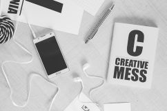 A creative mess or planned writing - planning ahead helps you focus more