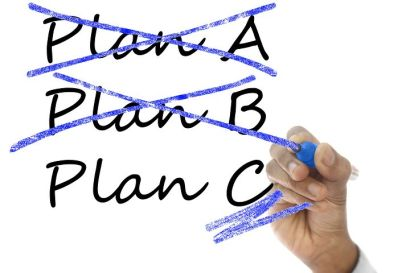 It can feel like you need to get to Plan Z before making progress in writing