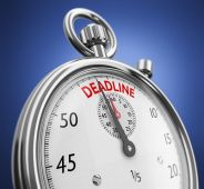 It pays to set your own deadlines. I set some at least a week ahead of any competition deadline to ensure I don't miss the real date. Pixabay