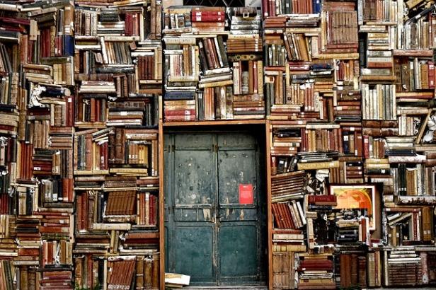 Books, books, glorious books.... Pixabay