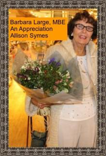 Feature Image Barbara Large - An Appreciation